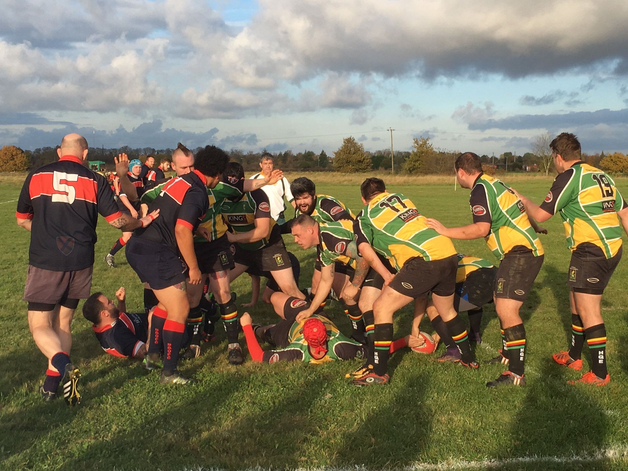 Hatfield QE RFC v Biggleswade RFC