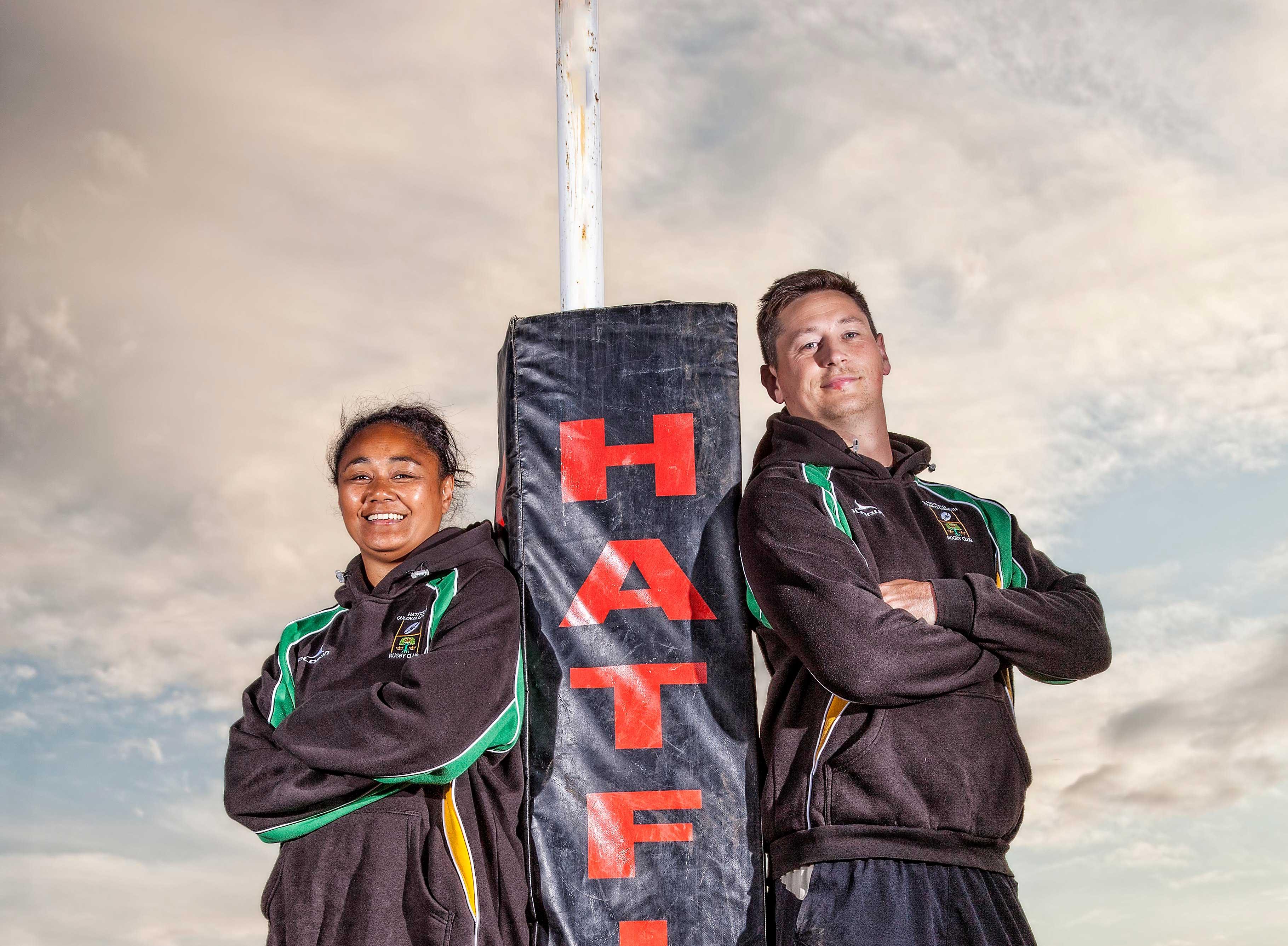 New HQE Coaches Sam Clapham & Leilani Feaunati